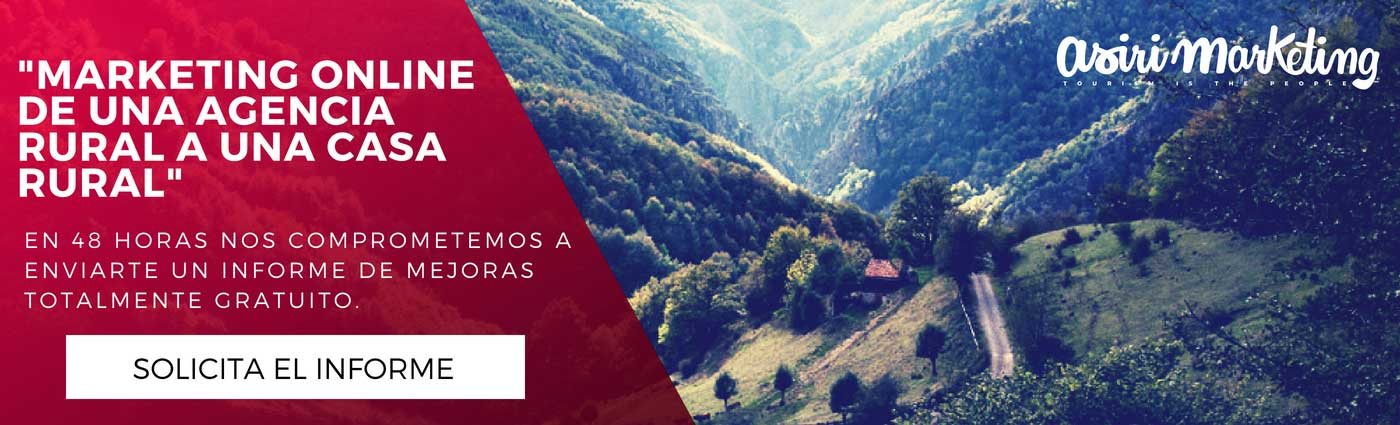 marketing online para alojamientos rurales