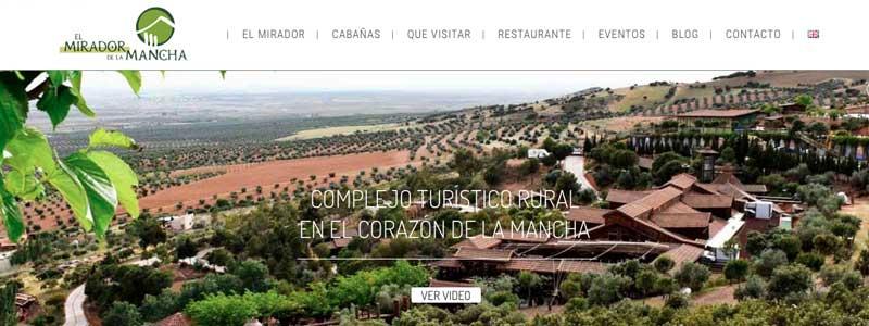 marketing online casas rurales en un hotel rural de la mancha