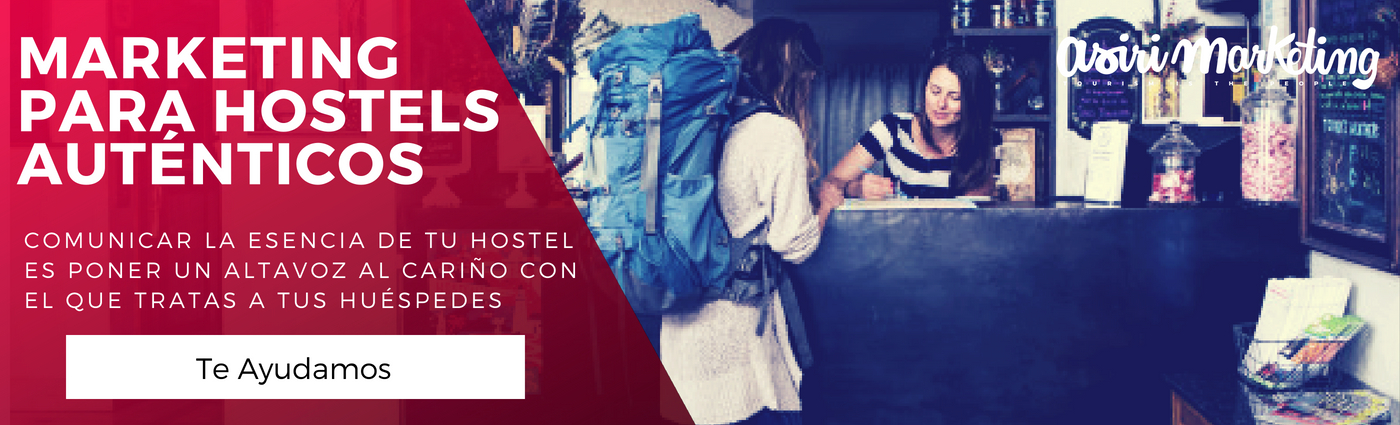 marketing para hostels auténticos