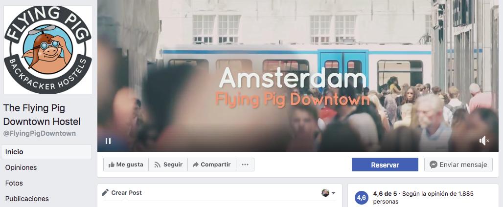 uno de los mejores hostels del mundo en facebook
