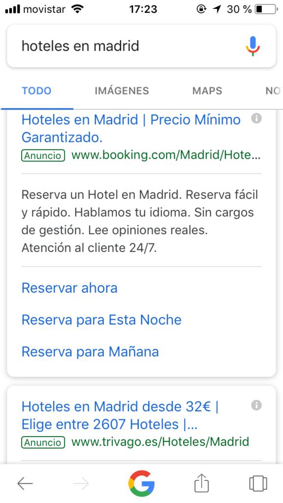 mejorar las reservas de tu hotel a través de Google