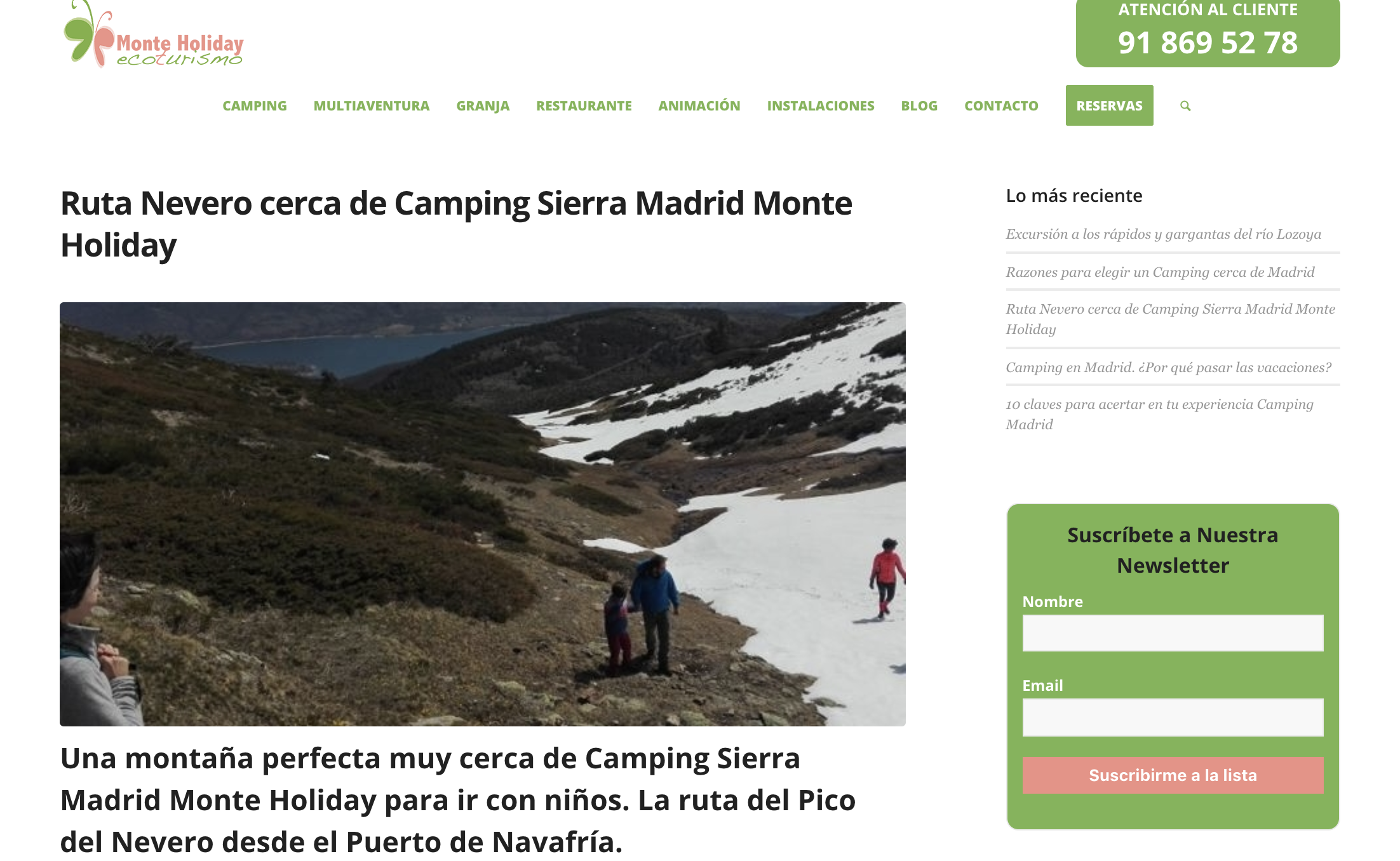 camping monte holiday blog