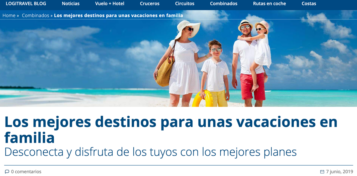 blog logitravel marketing de contenidos