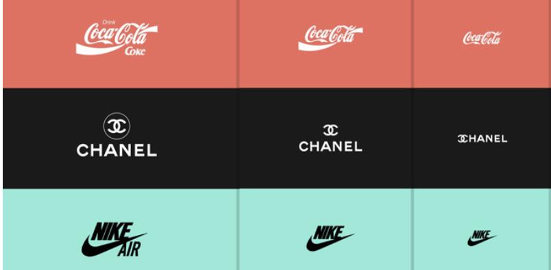 rediseño tu logo con un concepto responsive