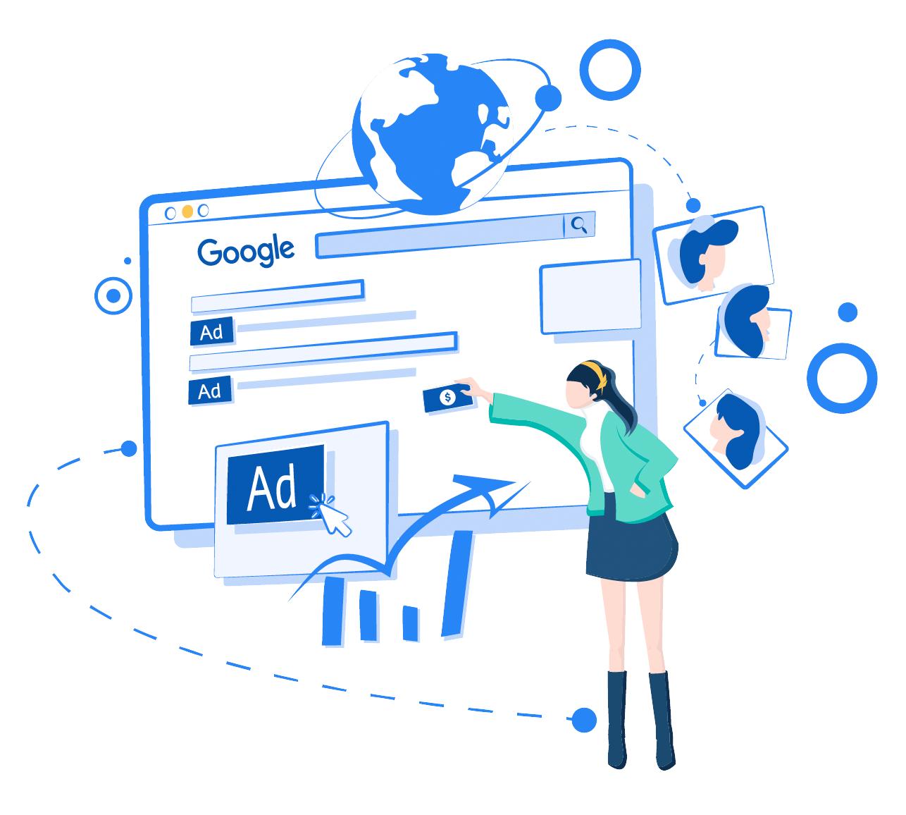 Google Ads proyectos turisticos