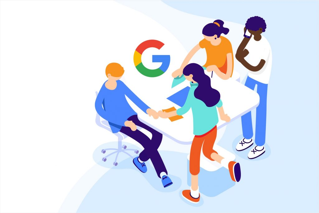 Getión de Campaña en Google a traves del equipo de marketing digital