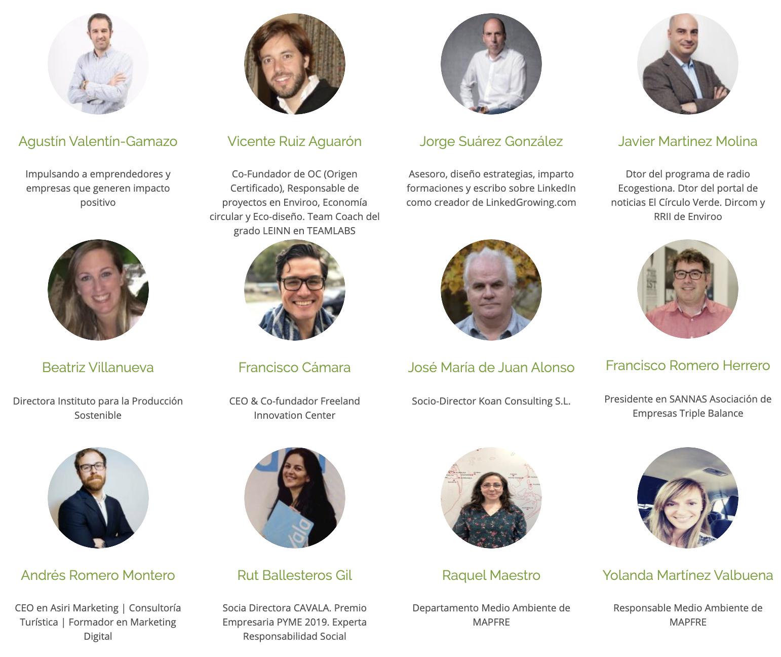 greenweekend madrid y sus colaboradores